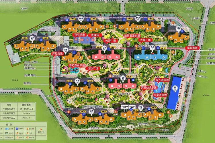 碧桂园公园上城楼栋位置图